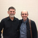 DST's Eric Domingue with the President of Kamloops Exploration Group (KEG), Colin Russell